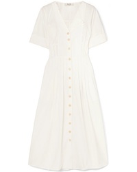 Sea Calah Cotton Poplin Midi Dress