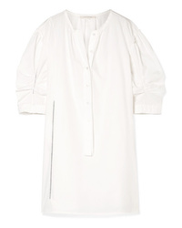Marc Jacobs Cotton Poplin Mini Dress