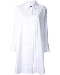 MM6 MAISON MARGIELA Pleated Front Shirt Dress