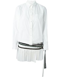Sacai Pleated Shirt Dress
