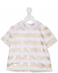 Miss Blumarine Checked Blouse