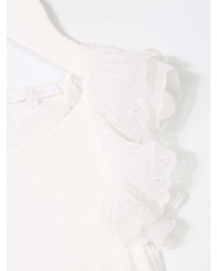 Chlo Kids Ruffled Sleeves Blouse