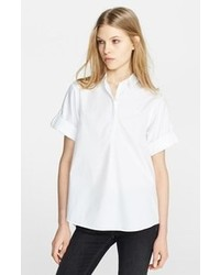 Burberry Brit Cotton Roll Sleeve Shirt
