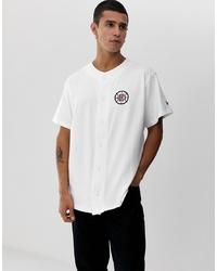 New Era Nba La Clippers Jersey Shirt In White