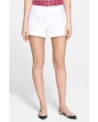 Tory Burch Double Weave Cotton Shorts