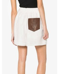 JW Anderson Drawstring Shorts With Leather Pocket
