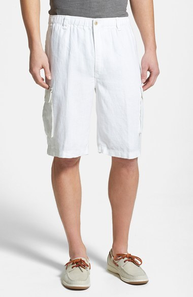 a0d4032720 Tommy Bahama Linen On The Edge Linen Cargo Shorts, £61   Nordstrom ...