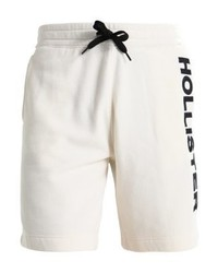 Hollister Co. Logo Tracksuit Bottoms Bright White