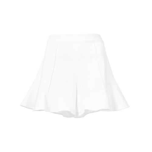 Josie Natori Ruffled Hem Shorts