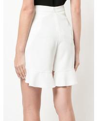 Goen.J Ruffled Slit Shorts