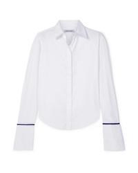 Anna Quan Anne Silk Med Cotton Twill Shirt
