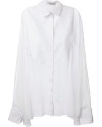 Valentino Draped Sleeve Blouse
