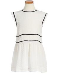 Burberry Janina Fil Coup Silk Blend Dress
