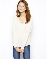 Only Fina Long Sleeve Blouse