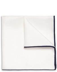 Drakes silk twill pocket square medium 11996