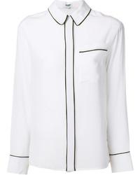 Kenzo Contrast Trim Shirt