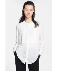 Textured silk tunic blouse medium 83174