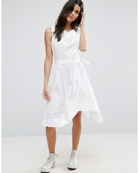 Asos Hitch And Hike Skater Dress