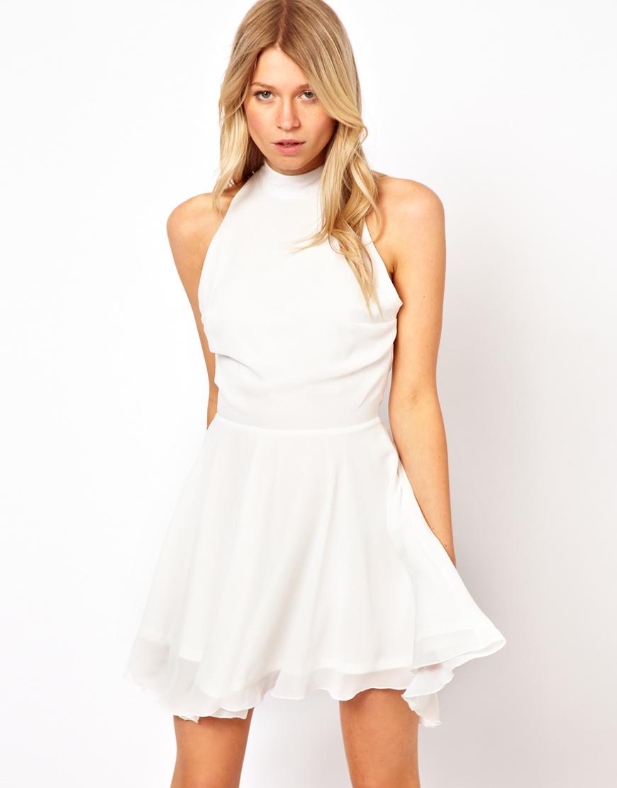 Love Skater Dress With High Neck