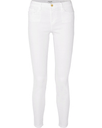 Frame Le Color Mid Rise Skinny Jeans