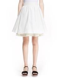 Moncler Gonna Full Double Layer Skirt