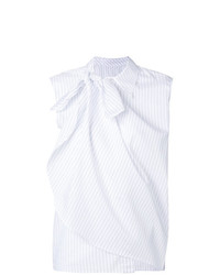 MM6 MAISON MARGIELA Layered Stripe Sleeveless Shirt