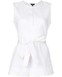 Theory Sleeveless Belted Top