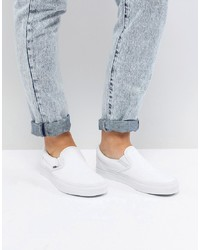 Vans Slip On Trainers In White