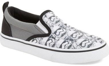 Skechers Boys Star Wars Tossers Slip On Sneaker
