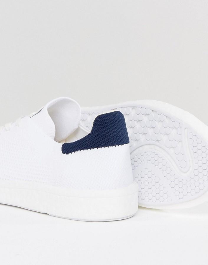the best attitude 1ac98 77fd0 Originals Stan Smith Boost Primeknit Sneakers In White Bb0012