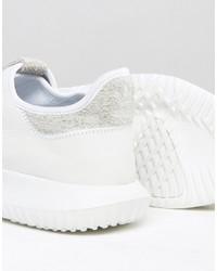 online retailer c84c0 8b4a3 adidas Originals Tubular Shadow Sneakers In White Bb8821 ...
