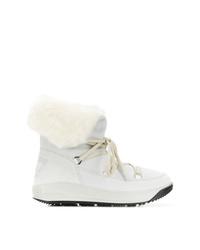 Ea7 Emporio Armani Lace Up Boots