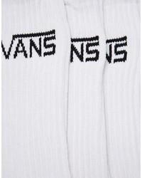 Vans Classic 3 Pack Crew Socks