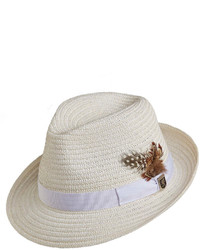 White Straw Hat