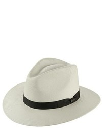 Scala Straw Safari Hat White