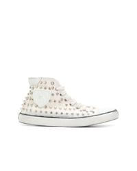 Saint Laurent Bedford Studded Sneakers