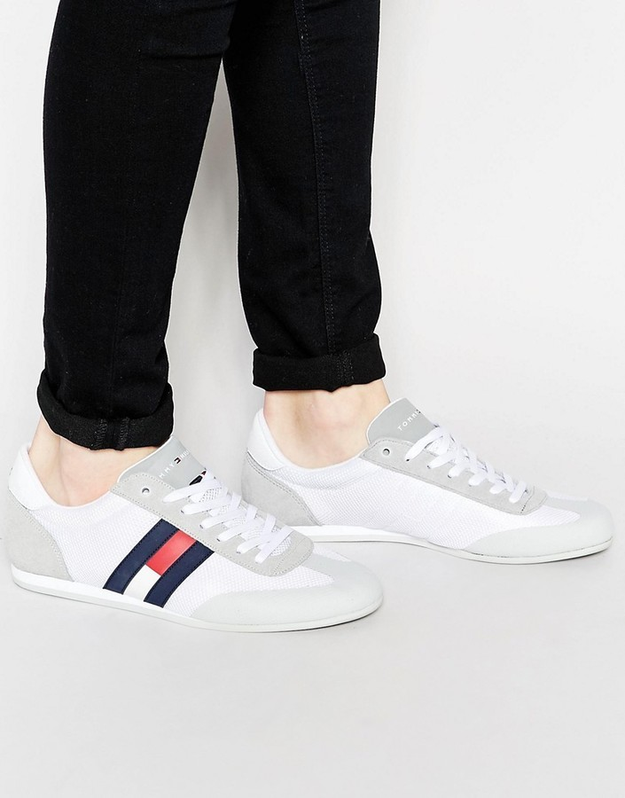 f91b019a Tommy Hilfiger Logo Sneakers, £89 | Asos | Lookastic UK