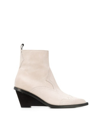 MM6 MAISON MARGIELA Western Ankle Boots