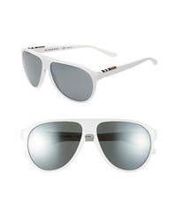 Burberry 59mm Keyhole Sunglasses White One Size