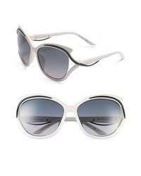 Dior Audacieuse 59mm Butterfly Sunglasses White One Size