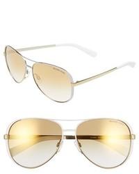 Michael Kors Michl Kors Collection 59mm Aviator Sunglasses