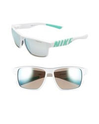 Nike Mojo 59mm Sunglasses White Mint One Size