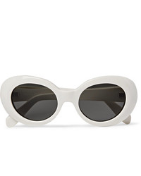Acne Studios Mustang Oval Frame Acetate Sunglasses