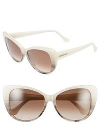 Balenciaga Paris 57mm Cat Eye Sunglasses