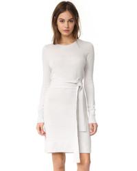 Club Monaco Remlee Tie Front Sweater Dress
