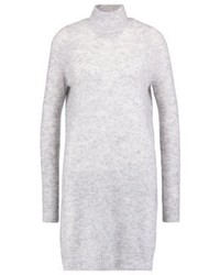 Noisy May Nmyoung Jumper Dress Light Grey Melange