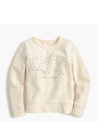 J.Crew Girls Crewcuts For David Sheldrick Wildlife Trust Save More Elephants Sweatshirt