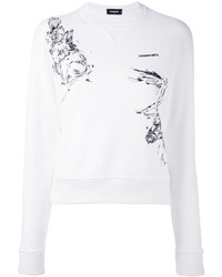 Dsquared2 Animal Print Sweatshirt