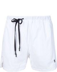 11 By Boris Bidjan Saberi Drawstring Logo Swim Shorts