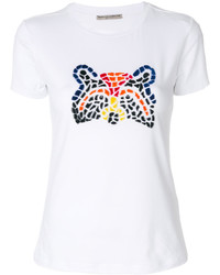 Ermanno Scervino Bear Patchwork T Shirt